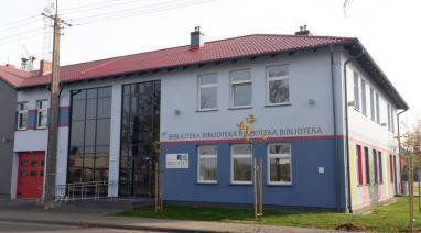 Budowa nowej biblioteki w 2014 r.